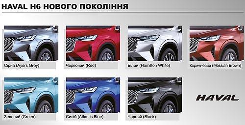В Украине принимают предзаказы на HAVAL Н6 нового поколения - HAVAL