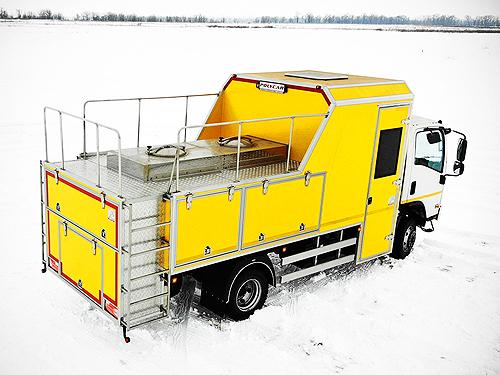 На базе ISUZU NPS 75 выпустили спецавтомобиль для коммунальных служб - ISUZU