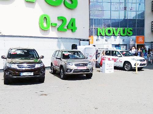 В Украине провели 500 тест-драйвов новых моделей Chery Tiggo 3 и Chery Tiggo 5 - Chery