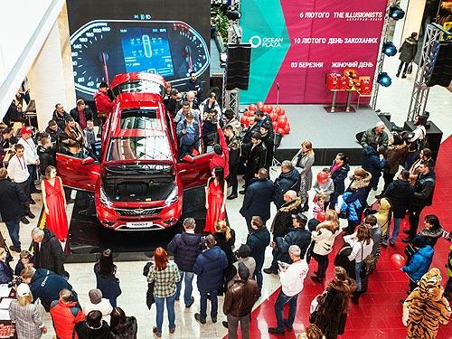 В Украине состоялась премьера CHERY TIGGO 7. Многие автомобили уже раскупили - CHERY