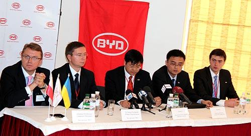 В Украине стартовали продажи и объявлены цены на автомобили BYD - BYD