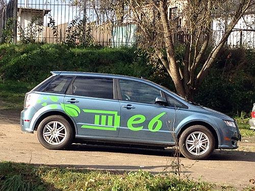Электромобиль BYD e6 проехал по украинским дорогам без подзарядки 250 км - BYD