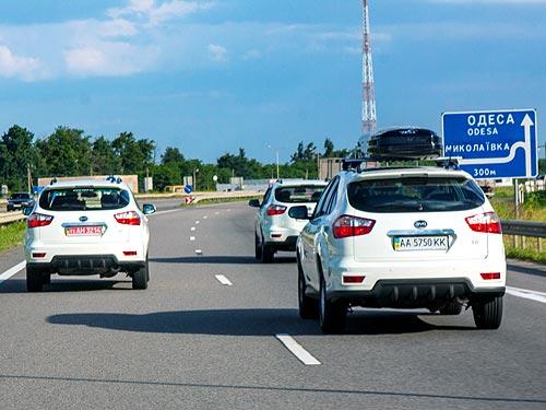 BYD S6 провел экстремальные выходные в Украине - BYD