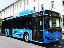 Электроавтобус BYD проходит испытания в Германии