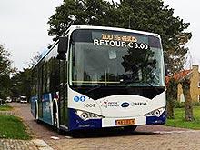 Электроавтобус BYD eBus назвали лучшим в Нидерландах - BYD