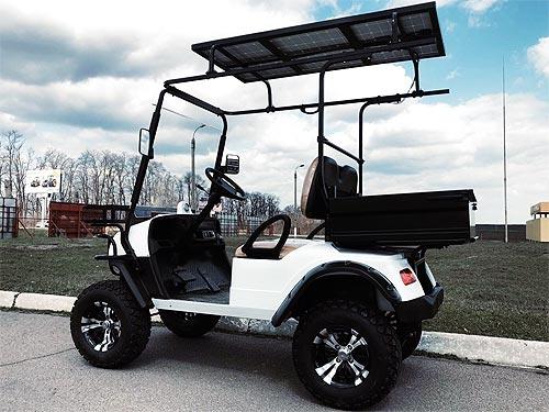 В Украине стартовали продажи доступных полноприводных электрокаров и гольфкаров - электрокар