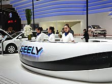 Какие новинки от Geely скоро будут в Украине. Наш репортаж с автосалона в Пекине