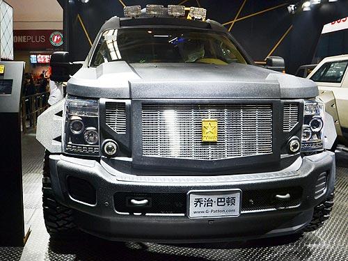 Броневики для бизнесменов. Репортаж с Пекинского автосалона