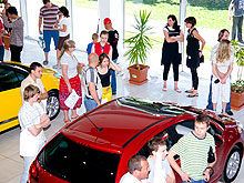 В Европе в декабре 2011 г.  продажи авто снизились на 6,4%