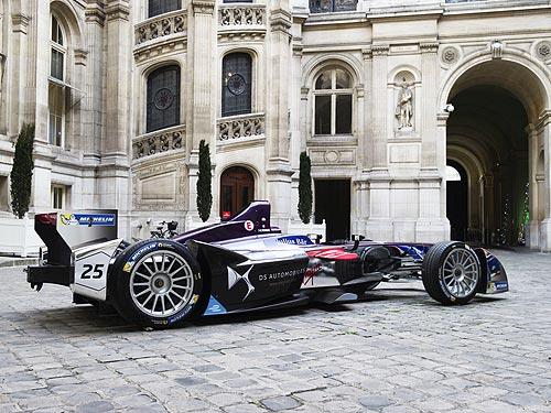 В Париже пройдет парад электромобилей DS - DS