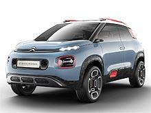Citroen представит целый ряд премьер на автосалоне в Женеве