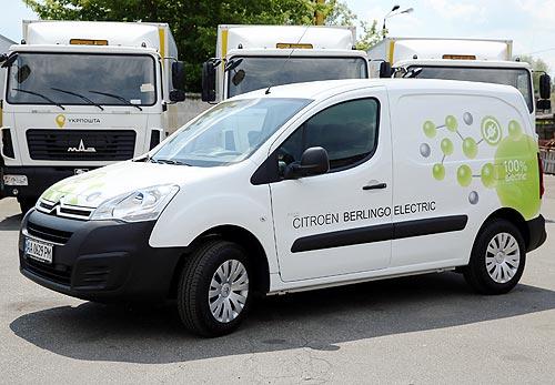 «УкрПошта» тестирует электрический Citroen Berlingo