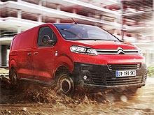 В Украине стартовали продажи нового фургона Citroen Jumpy