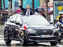 DS 7 CROSSBACK дебютировал на иннагурации президент Франции Эммануэля Макрона - DS