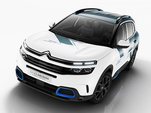 Citroen представит на автосалоне в Париже новый SUV Citroen C5 Aircross