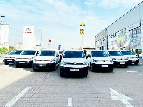 «Новая Почта» получила еще одну крупную партию автомобилей CITROEN Berlingo VU