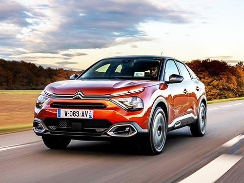 Новый CITROEN C4 может стать Лучшим автомобилем в Европе 2021