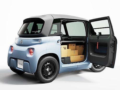 В линейке CITROEN Ami появится развозной фургончик - CITROEN