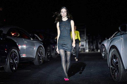 На Неделе Моды в Париже приняли участие электрифицированные автомобили DS - DS