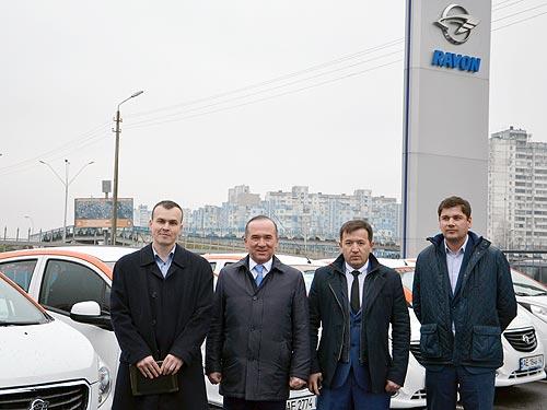 Первый настоящий каршеринг в Киеве выбрал автомобили Ravon - каршеринг