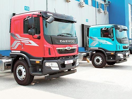 В Украине стартовали продажи новых грузовых автомобилей Daewoo