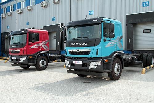 В Украине стартуют продажи новых грузовых автомобилей Daewoo - Daewoo