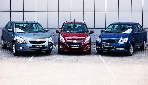 Автомобили Chevrolet доступного сегмента возвращаются в Украину - Chevrolet