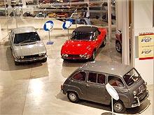 История Автомобилей. Музей FIAT в Турине - FIAT