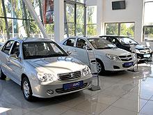 Самой популярной иномаркой C-класса в Украине стал автомобиль китайского производства - Geely