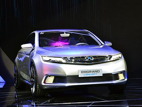 Geely показала на автосалоне в Шанхае новый большой и доступный седан