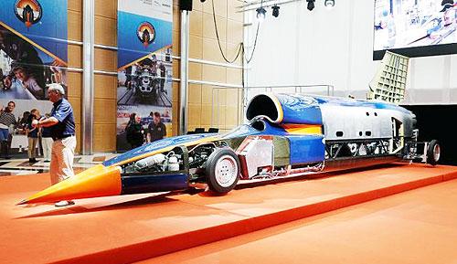 Geely стал спонсором создания сверхзвукового авто - Geely