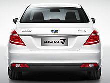 В Украине стартовали продажи нового Geely Emgrand 7 FL - Geely