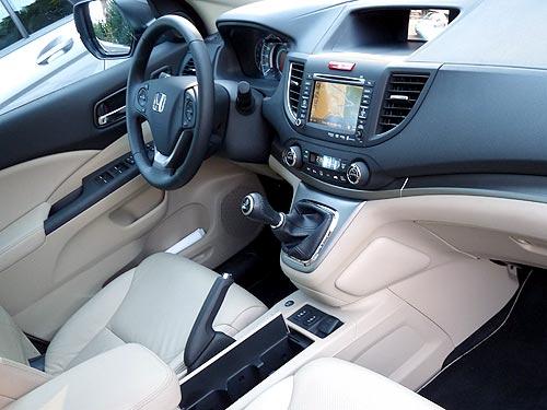 Новая Honda CR-V уже в Украине: Проверка боем - Honda
