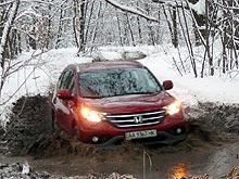 Новая Honda CR-V уже в Украине: Проверка боем