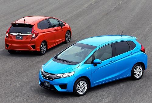 Honda представит новое поколение хэтчбека Jazz