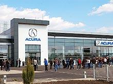 Acura не испугалась кризиса и открывает в Украине дилерские центры