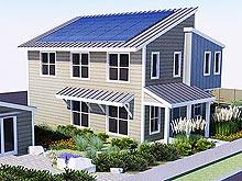 Honda приняла участие в строительстве дома будущего