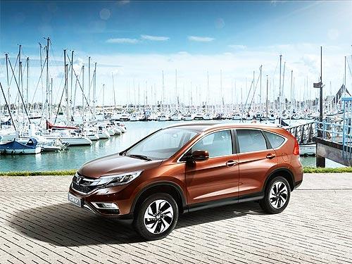 Honda CR-V дарит безопасность - Honda