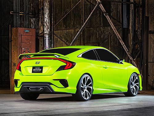 Каким будет новое поколение Honda Civic. Фото - Honda