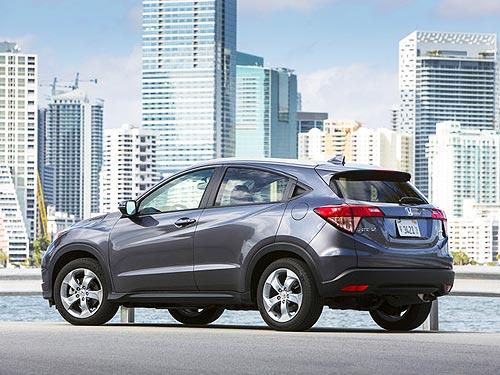Honda HR-V назвали самым экологичным SUV года - Honda