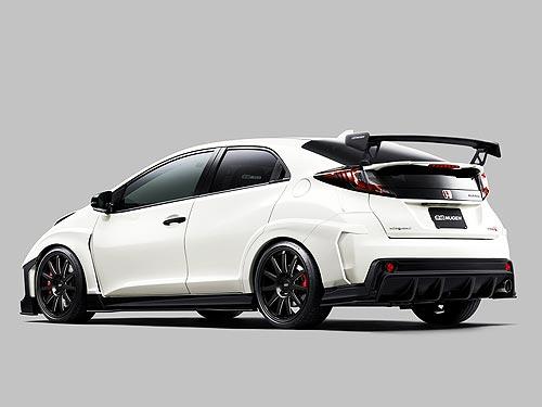 В Токио представили тюнингованные версии Honda Civic Type R. Фото - Honda