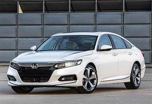 Новое поколение Honda Accord будет оснащаться 1,5-литровым мотором. Фото - Honda