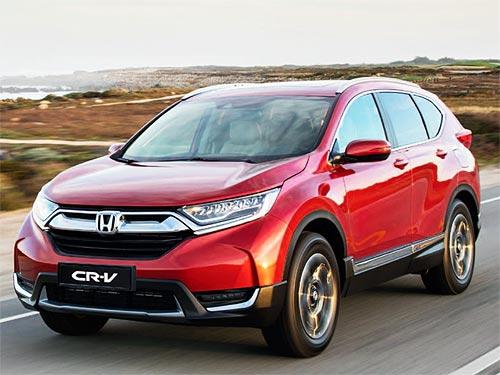 На Honda CR-V действуют выгодные цены и дополнительная гарантия