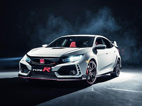 Honda представила серийный Civic Type R 2017 в Женеве - Honda