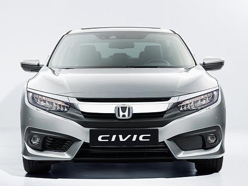 В Украине уже доступно новое поколение Honda Civic 2017 года