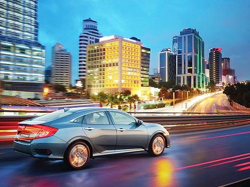 Каждый покупатель Honda Civic и Honda Pilot получает комплект зимней резины - Honda