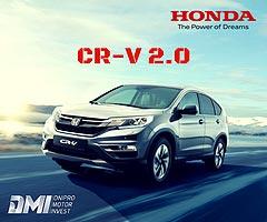 На Honda CR-V 2.0 действует беспрецедентно выгодная цена