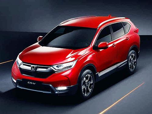 Осенью в Украине стартуют продажи новой версии Honda CR-V с двигателем 1,5 л