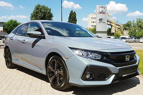 В Украине уже доступен новый Honda Civic 5D 1.0 2018 модельного года - Honda