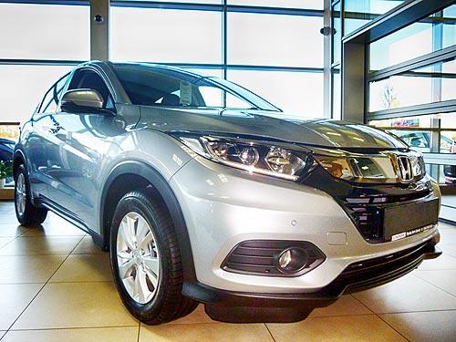 Новое поколение Honda HR-V уже в Украине - Honda